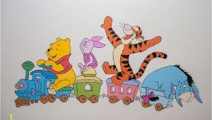 Classic Winnie the Pooh Wall Mural Wandgestaltung Mit Winnie Puuh Und Seinen Freunden