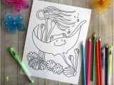Classroom Coloring Pages for Kids Stingray Digital Download Classroom Printable Coloring Pages Under the Sea Party