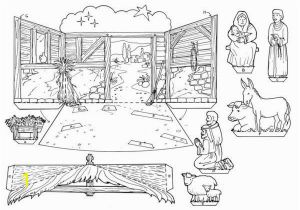 Clay Pot Coloring Page Nativity Coloring Pages Christmas Nativity