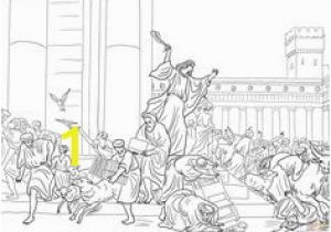 Cleansing the Temple Coloring Page 21 Best New Jesus Cleansing Temple Images