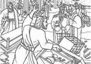 Cleansing the Temple Coloring Page 35 Best Jesus Cleansed the Temple Matthew21 12 17 Mark 11