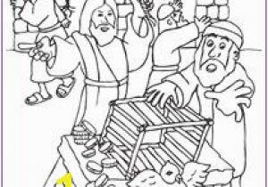 Cleansing the Temple Coloring Page 352 Best Bible Pages to Color Images
