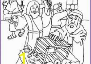 Cleansing the Temple Coloring Page 39 Best Coloring Bible Nt Gospels Passion Through