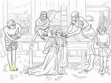 Cleansing the Temple Coloring Page Jesus Boy In the House Of His Parents Coloring Page From