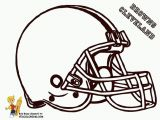 Cleveland Browns Coloring Pages Coloring Pages Football Helmet Coloring Home