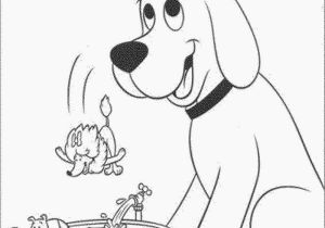 Clifford Coloring Pages to Print Clifford the Big Red Dog Coloring Pages Coloring Pages