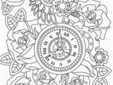 Clock Coloring Pages for Kids 366 Best Steampunk Coloring Pages for Adults Images