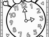Clock Coloring Pages for Kids Pin by Bethany Thompson On for Jillian