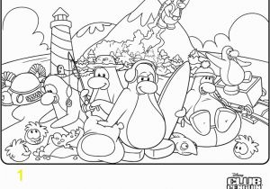 Club Penguin Coloring Pages Puffles Print Free Club Penguin Coloring Sheets
