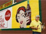 Coca Cola Wall Murals Coca Cola Mural Painter andy Thompson