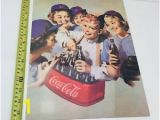 Coca Cola Wall Murals Details About Vintage Coca Cola Enamel Sign Man Cave Shop Display Wall Art