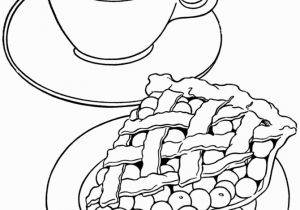 Coffee Mug Coloring Page Apple Pie Coloring Page 004 Clip Art Pinterest