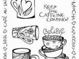 Coffee Mug Coloring Page Free Printable Coffee Coloring Pages for Adults