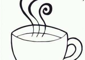 Coffee Mug Coloring Page Hot Chocolate Mug Coloring Page