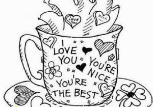 """Coffee Mug Coloring Page Mug Coloring Page Printable Best 744 Best ¢Å"""" ¢Ëœ•adult Colouring"""