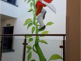 College Wall Murals Our Latest Mural Paintings School Library