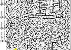 Color by Number Advanced Coloring Pages 9 Best Color by Number Images