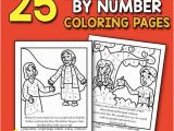 Color by Number Christian Coloring Sheets Best Value Bible Color by Number Printable 25 Bible Coloring Pages for Christians Instant Download Activity Book Bible Verse Church Activity