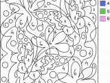 Color by Number Flower Coloring Pages Coloring Pages Cool Designs Color by Number with Images