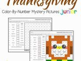 Color by Number Turkey Coloring Pages Thanksgiving Place Value Color by Number