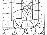 Color by Number Valentine Coloring Pages Free Printable Color by Number Coloring Pages with Images