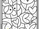 Color by Number Valentine Coloring Pages Valentine S Day Color by Number 1 10 & 11 19 and Color by Sum Up to 10