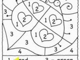 Color by Number Valentines Day Coloring Pages 105 Best Color by Numbers Images