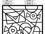Color by Number Valentines Day Coloring Pages Valentine S Day Coloring Pages Free Printable April