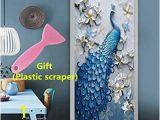 """Color by Number Wall Mural Kelay Fs 3d Door Wall Murals Wallpaper Door Stickers Decor Door Decals Self Adhesive Door Mural Poster Vinyl Door Wall Stickers 35 5""""x 78 7"""""""