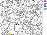 Color by Number Winter Coloring Sheets 105 Best Color by Numbers Images