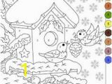 Color by Number Winter Coloring Sheets 634 Best Mic Images In 2020