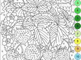 Color Coded Coloring Pages Kindergarten Coloring for Adults Kleuren Voor Volwassenen