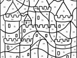 Color Coded Coloring Pages Kindergarten Printable Color by Number Pages for Kids Coloring Pages Coloring