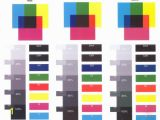 Color Ink Test Page Printer Test Sheet Color Test Page for Printer Black and White