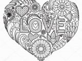 Color Pages for Adults Hearts Heart Coloring Pages for Adults Cool Coloring Pages