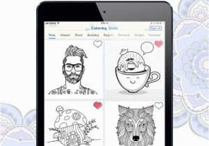 Color therapy Coloring Number iTunes Color Artist Coloring Book Im App Store