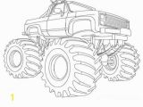 Coloring Book Pages Of Monster Trucks 28 Collection Of Easy Monster Truck Coloring Pages