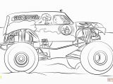 Coloring Book Pages Of Monster Trucks Grave Digger Monster Truck Coloring Page