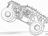 Coloring Book Pages Of Monster Trucks Max D Monster Truck Coloring Page