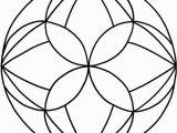 Coloring by Number for Elderly Mandalas Zum Ausdrucken tolle Blumen Mandala Vorlage Zum