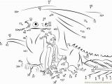 Coloring How to Train Your Dragon Dragon Dot to Dot