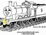Coloring Image Of A Train Thomas and Friends Coloring Pages James Google Search