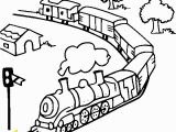 Coloring Image Of A Train toy Train Line Coloring Page