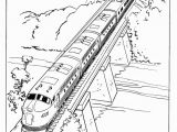 Coloring Image Of A Train Train and Railroad Coloring Pages Mit Bildern