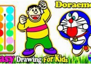Coloring Kitty and Painting Doraemon for toddlers Learn Coloring Pages for Kids Learncoloringpagesforkids On