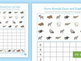 Coloring Number Of A Graph Arctic Animals Count and Graph Activity Teacher Made