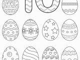 Coloring Number Pages for Kindergarten Free Preschool Printables Easter Number Tracing Worksheets