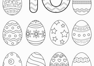 Coloring Number Pages for Kindergarten Free Preschool Printables Easter Number Tracing Worksheets