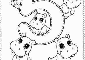 Coloring Number Pages for Kindergarten Number 5 Preschool Printables Free Worksheets and