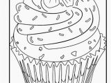 Coloring Page Cake Decorating 25 Cupcakes Coloring Page